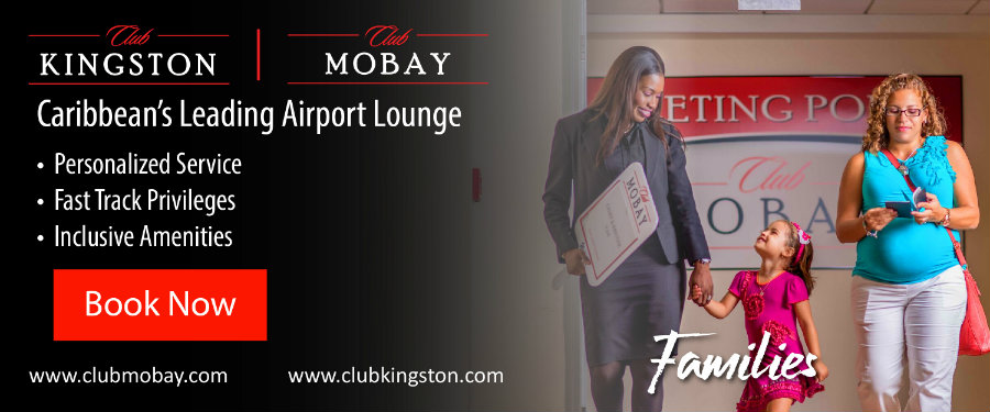 Club Mobay, Jamaica Airport Lounge